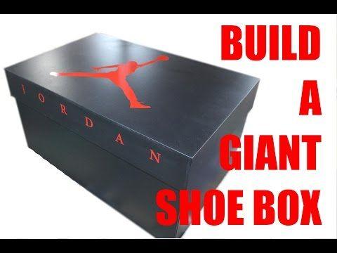 b092f45edaa9 Build a Giant Nike Shoe Box for Storage