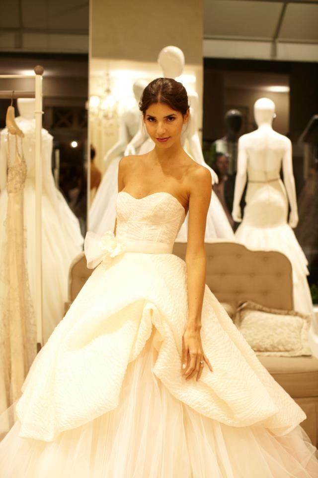 Lazaro Lazaro 3316 Size 10 Size 5 Wedding Dress | White dresses ...