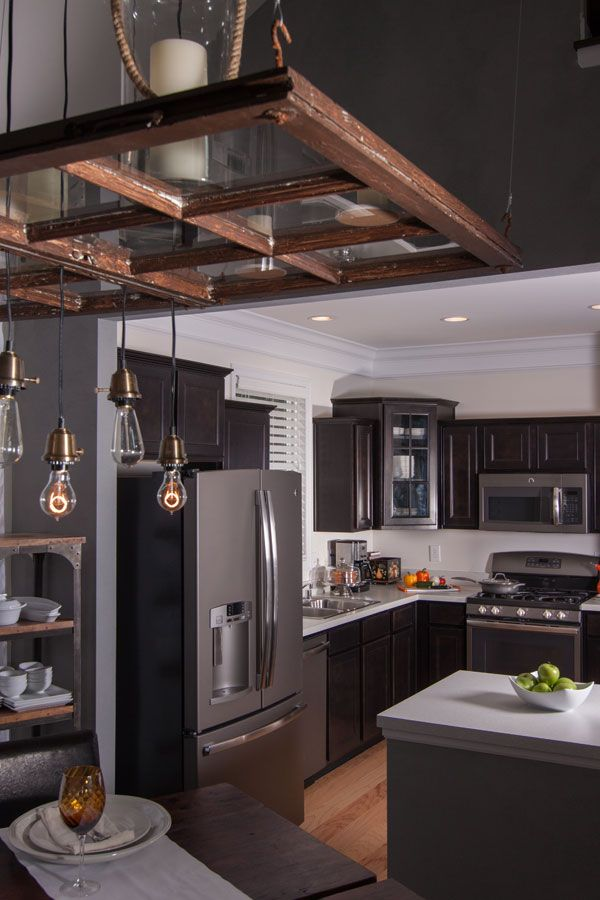 Will the slate appliance replace stainless home tips for Chocolate kitchen cabinets with stainless steel appliances