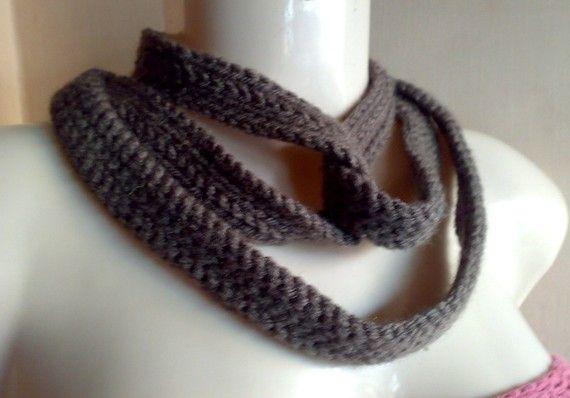 Crochet Extra Long Skinny Scarf Pattern Tyre Tracks by Mamta ...
