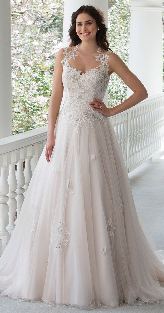 Sincerity bridal spring wedding dresses embroidered lace
