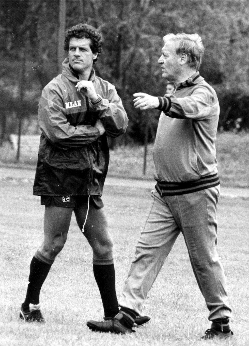 Fabio Capello AC Milan caretaker 1987 AC Milan coach 1991–1996