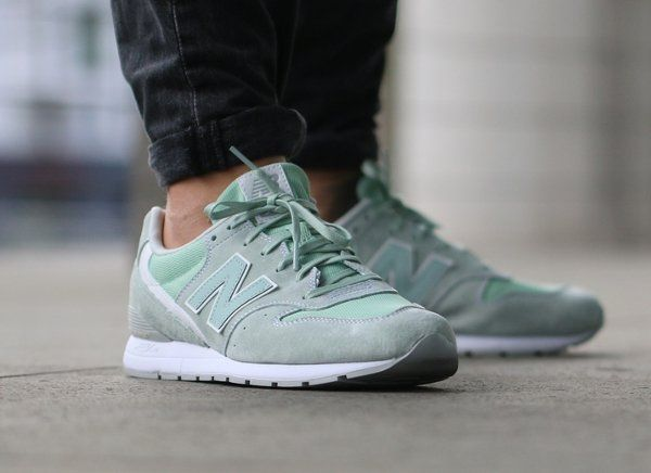 New Balance MRL 996 LH Suede Mint Cream