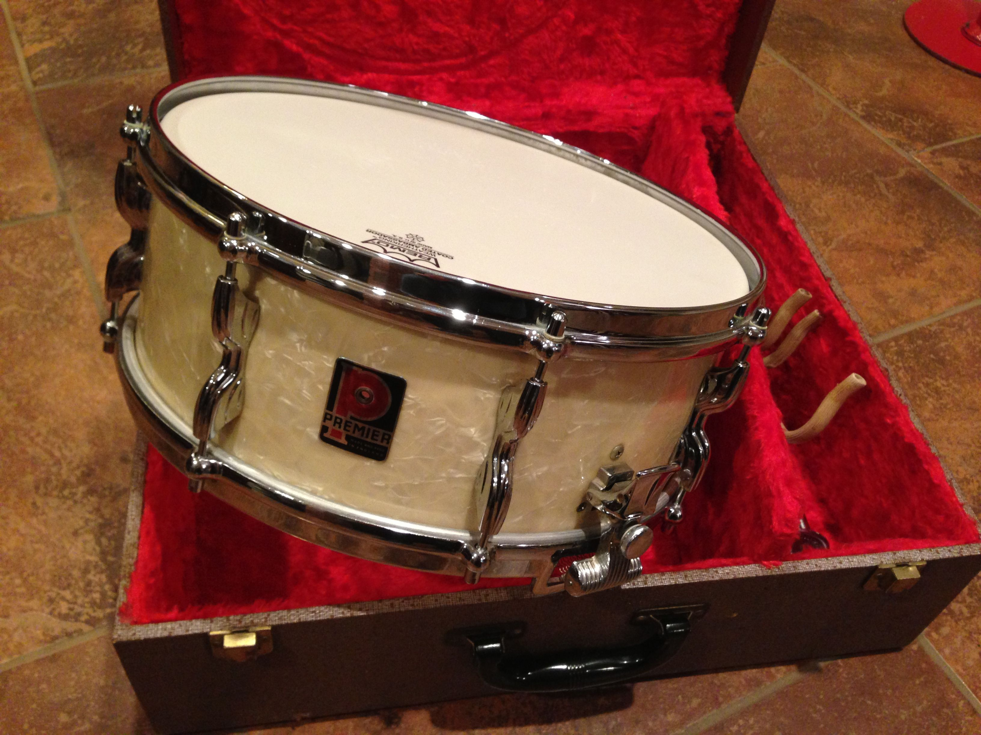 1960 premier royal ace snare white marine pearl premier drums in 2019 drum music drum. Black Bedroom Furniture Sets. Home Design Ideas