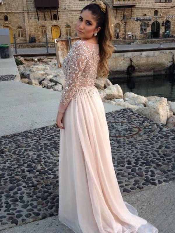 Long Elegant Prom Dresses 2015