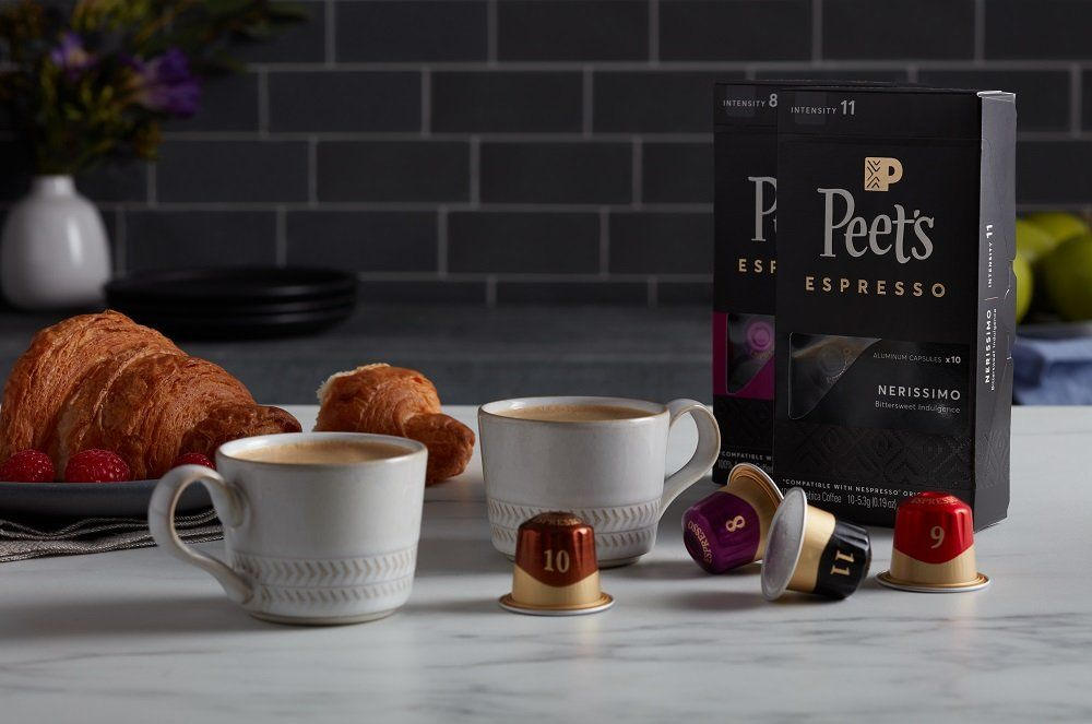 Peets Coffee Espresso Capsules Variety Pack 10 Each 40
