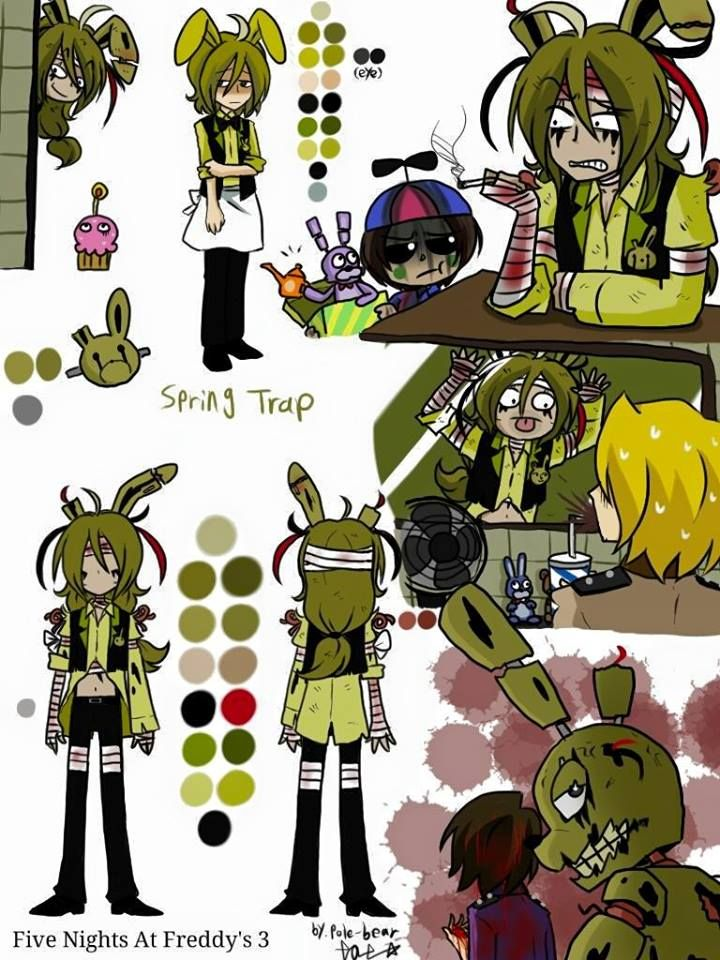 Springtrap I Like How Balloon Boy Is Like Dude Really This Is A