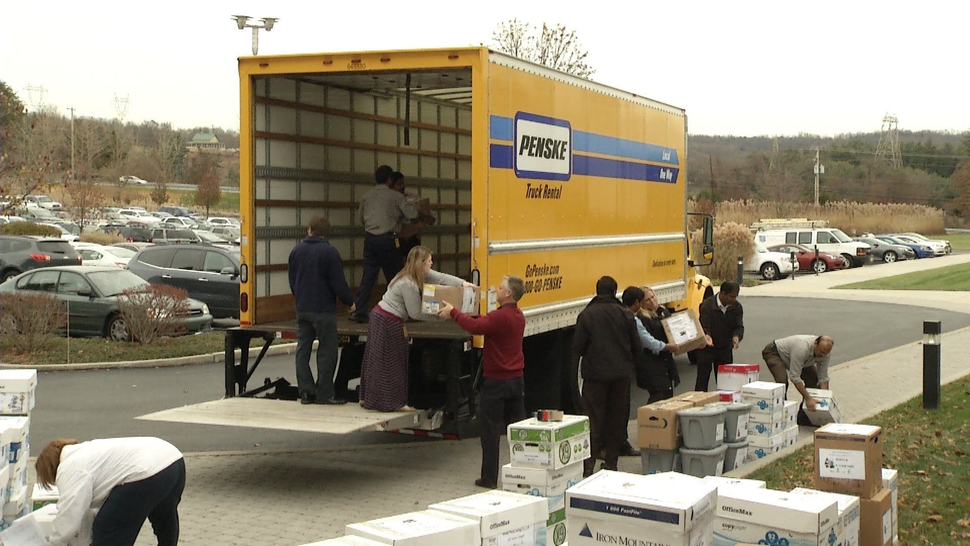 Penske Truck Leasing And Penske Logistics Donated Hundreds Of