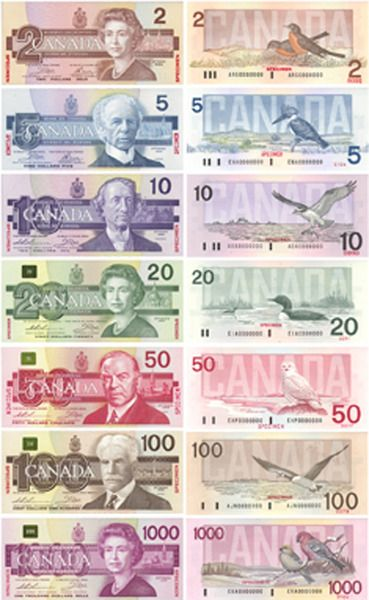 Canadian Money Really Want Some Of Those 1000 S Canadian Money Money Printables Printable Play Money