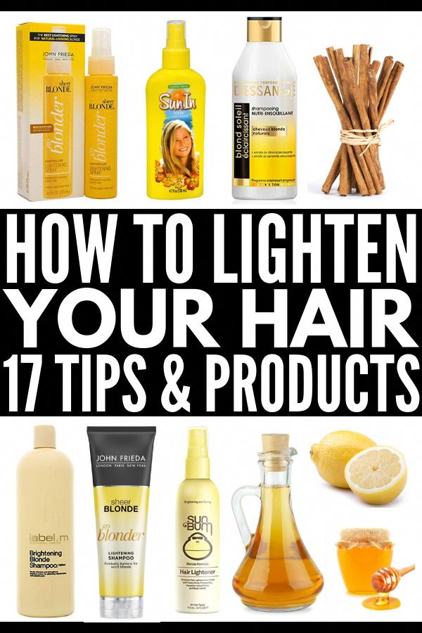 Auf natürliche Weise das Haar aufhellen: 17 Techniken und Produkte zur Haaraufhellung