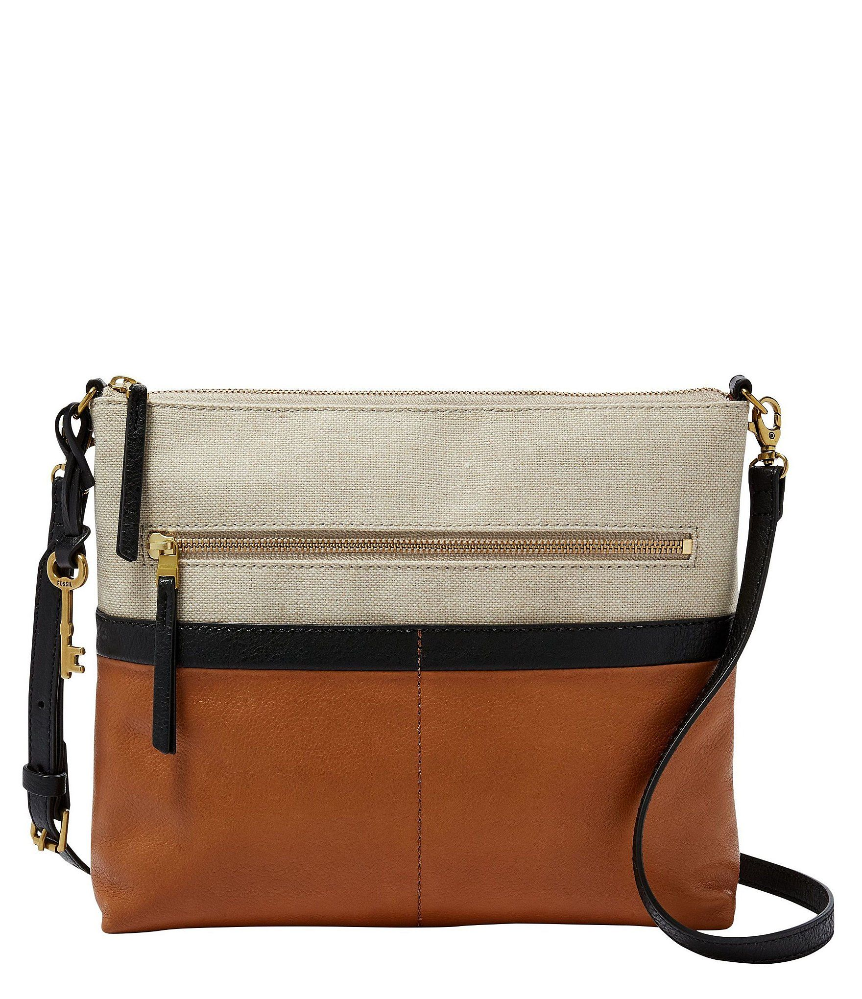 fd24111a190 Shop for Fossil Fiona Colorblock Large Cross-Body Bag at Dillards.com.  Visit Dillards.com to find clothing
