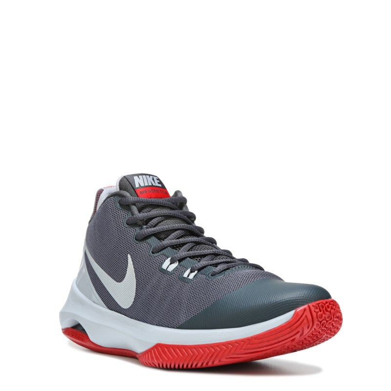 476c88a1e57 Nike Men s Air Versatile Basketball Shoes (Wolf Grey Univ. Red) - 10.5 M