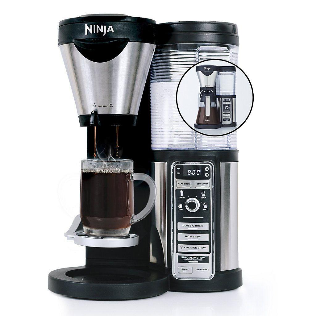 Ninja Coffee Bar with Glass Carafe (CF082) Ninja coffee