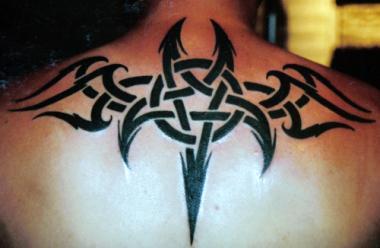 emiliakukkala blogs Upper back tattoos for men tribal
