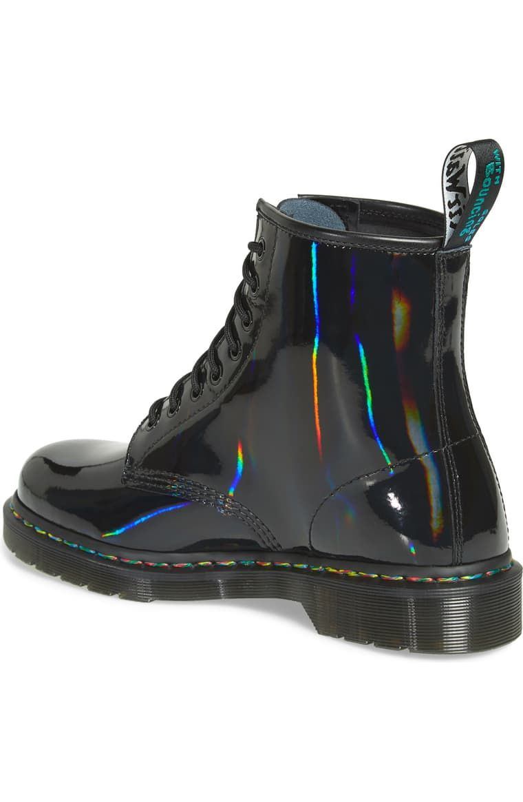 Dr. Martens 1460 Rainbow Patent Boot