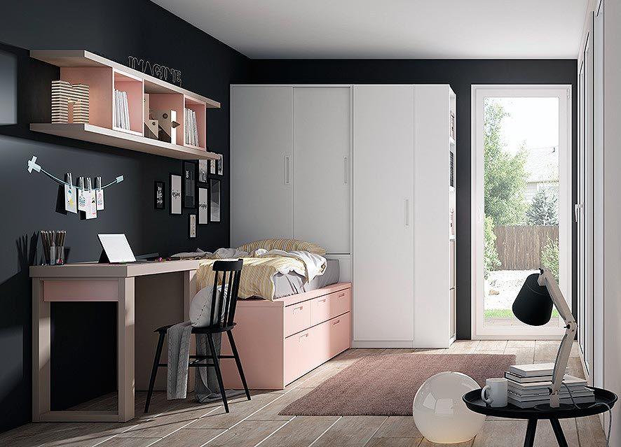 Dormitorios juveniles en valencia en 2019 alcobas for Alcobas juveniles modernas