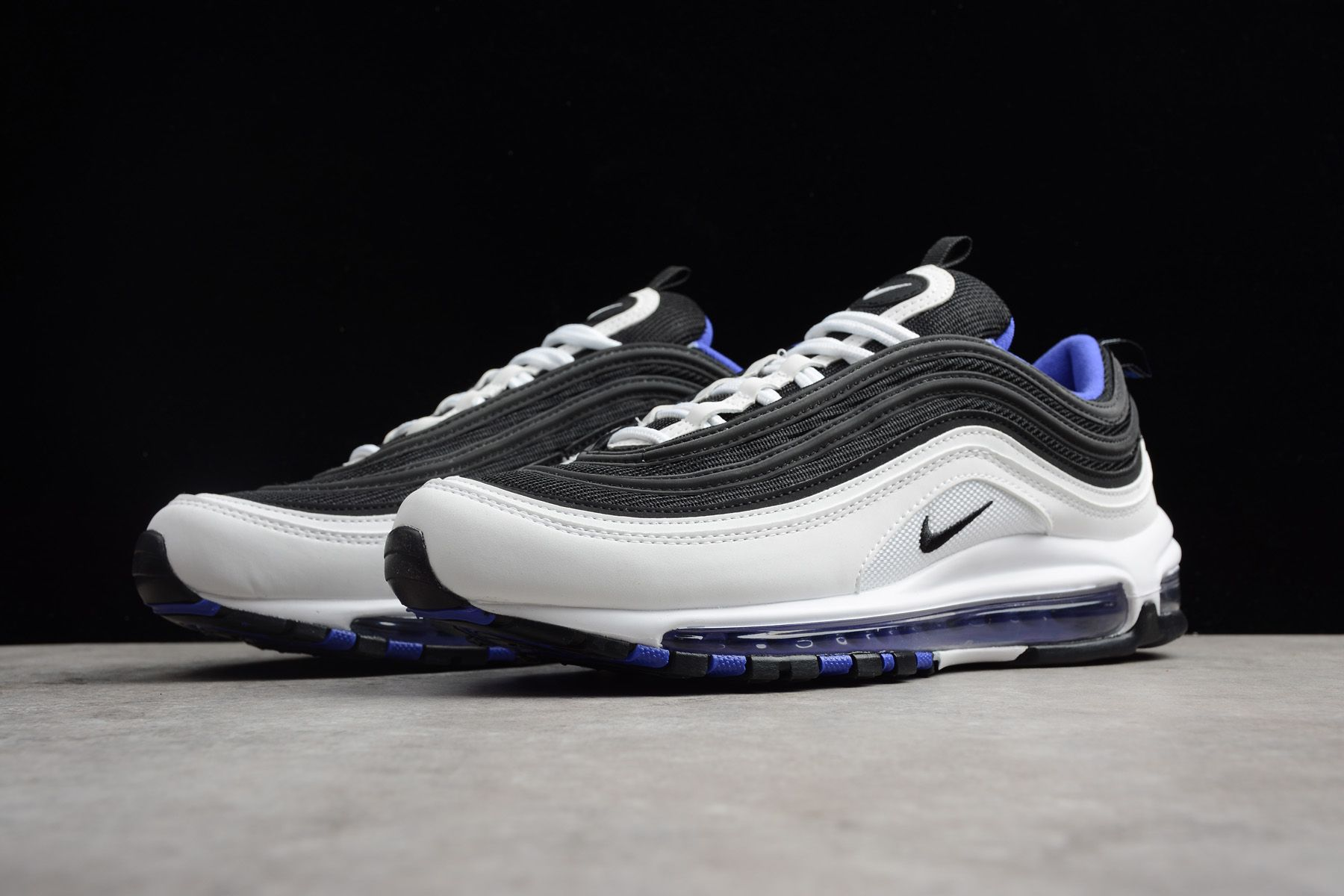 Details about Nike air max 97 Women's Sneaker 921733 005 Black White Shoes Sneakers New