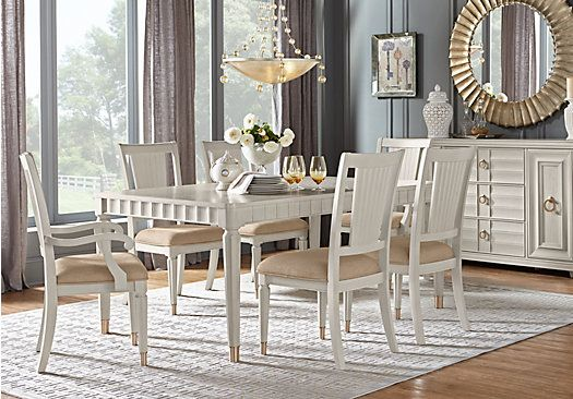 Shop For A Hillside Cottage White 5 Pc Dining Room At Rooms To Go Find Sets That Will Look Great In Your Home And Complement The Rest