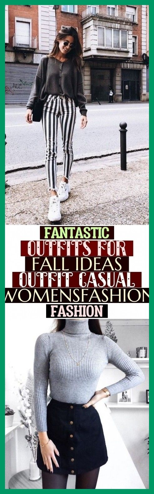 More Than 70 Fantastic Outfits For Fall Ideas Outfit Casual Womensfashion Fashion  Fantastic 80 Outfits for Fall Ideas