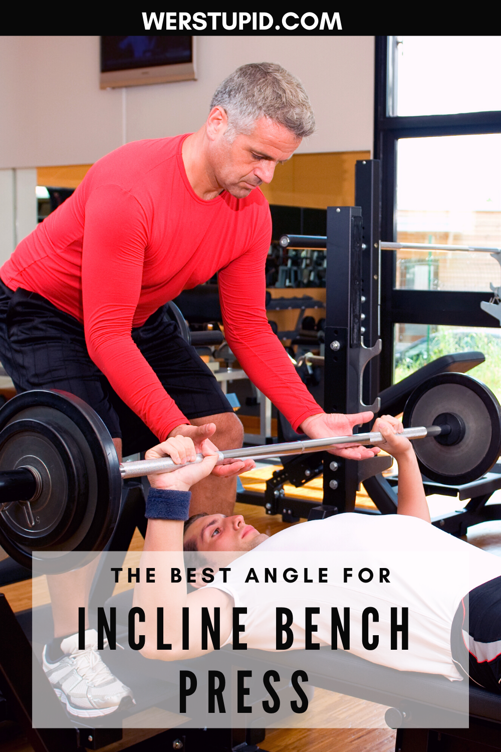 Incline Bench Press Angle Exercise Guide Angle Bench Exercise Guide Incline Press In 2020 Bench Press Incline Bench Bench Press Workout