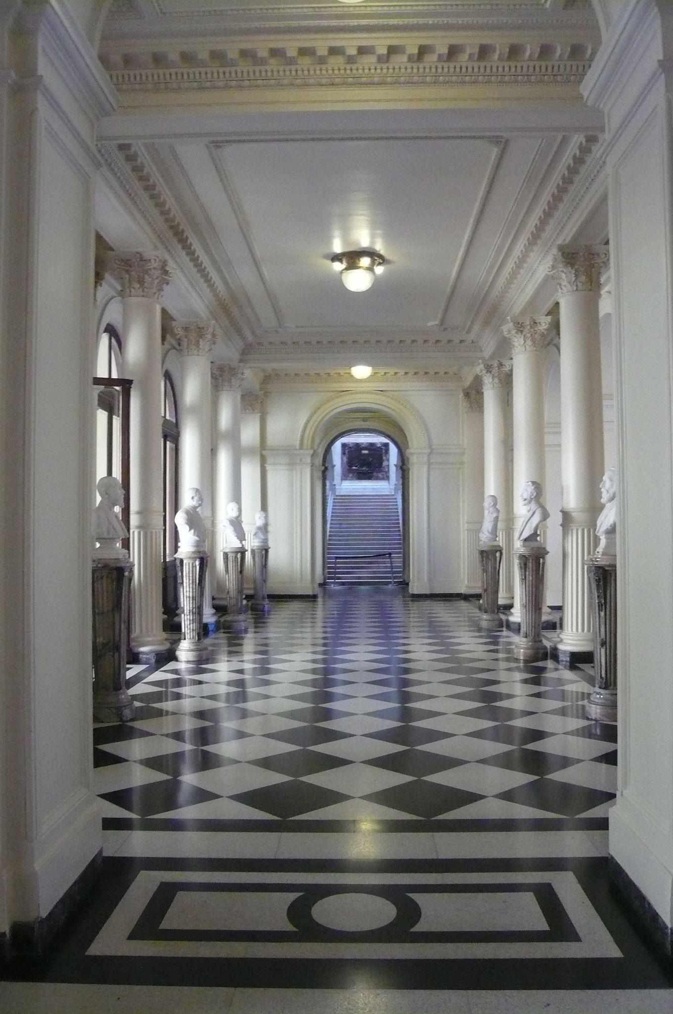 En el interior de Casa Rosada, Buenos Aires, Argentina ...