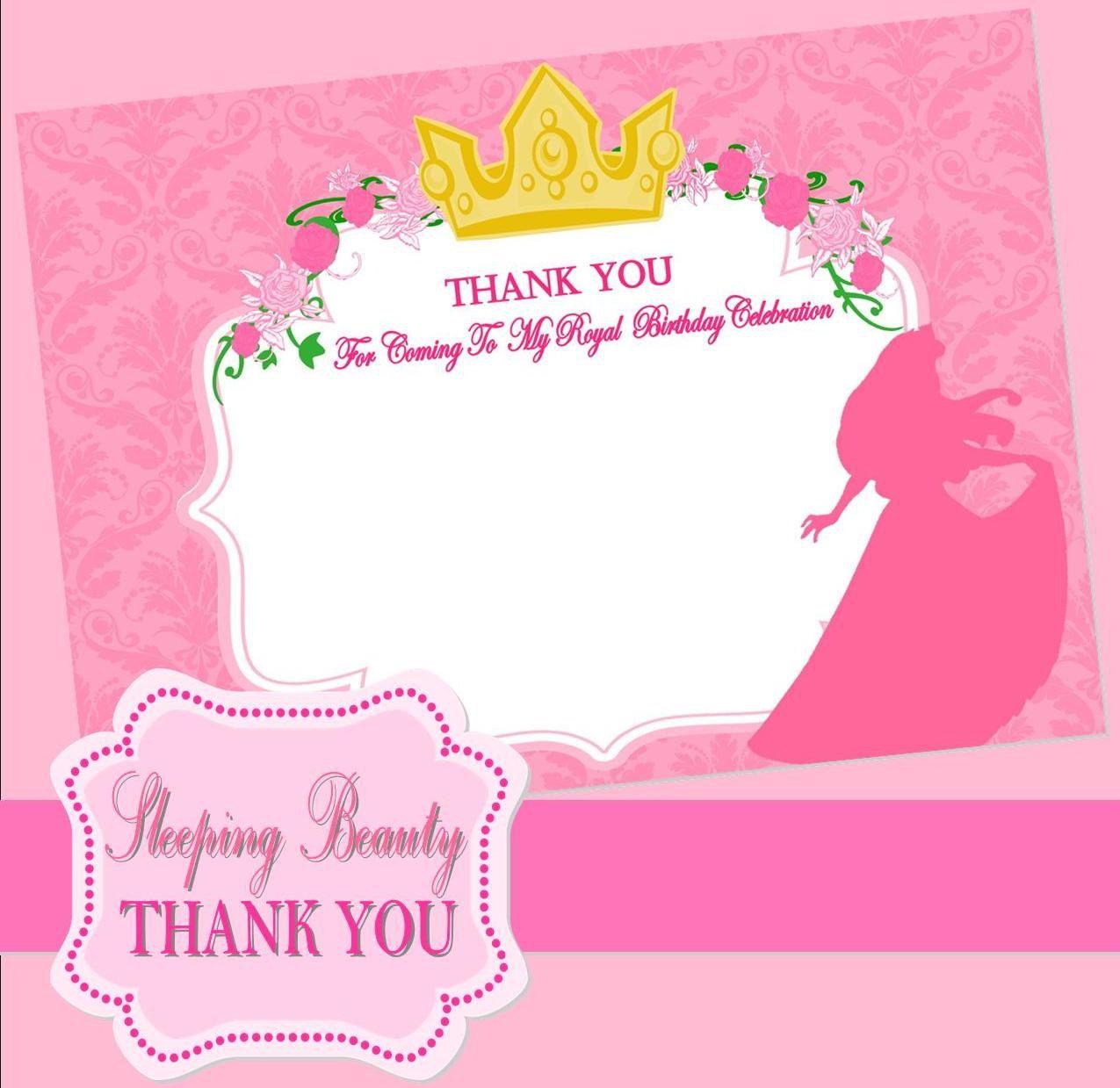 disney thank you cards