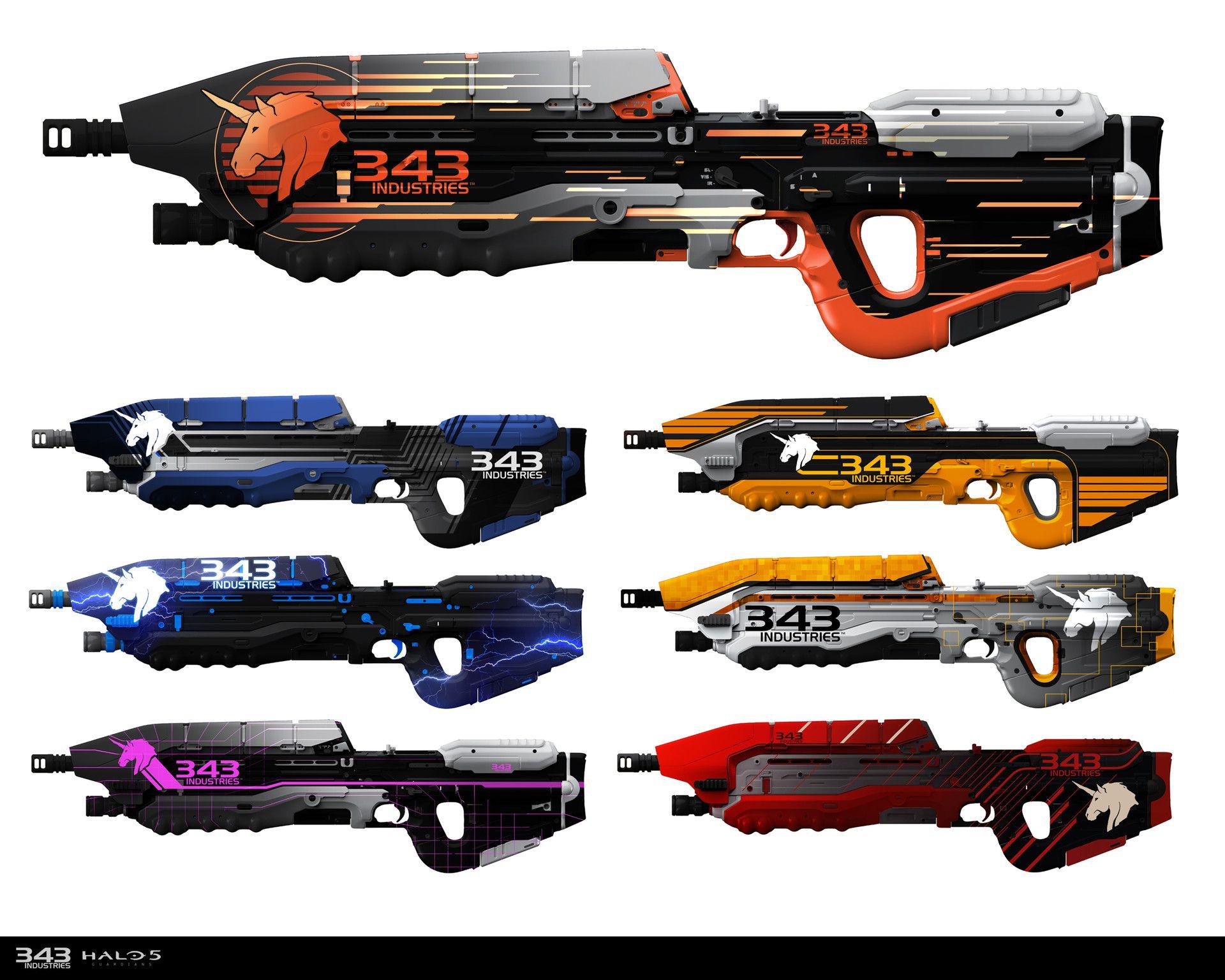 gun skins pokémon pinterest halo 5 halo and weapons