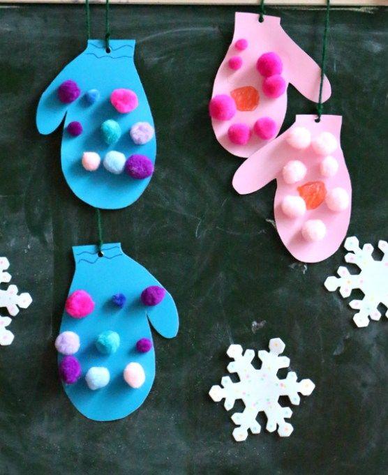 Pom Pom Ornaments Kids Can Make! | Letters from Santa Blog