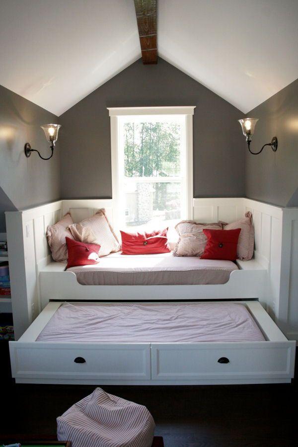 Queen Size Trundle Bed Frame Slaapkamer Op Zolder Ontwerpen