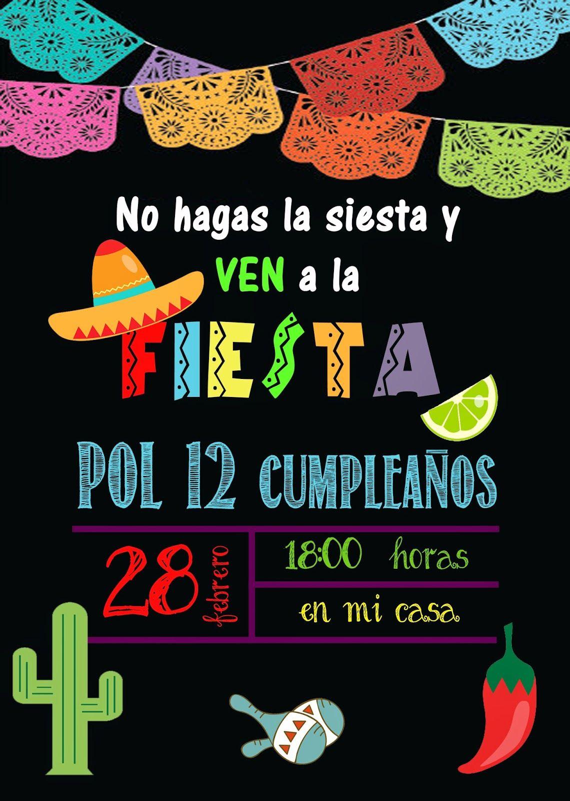 invitacion de cumpleaños para adultos