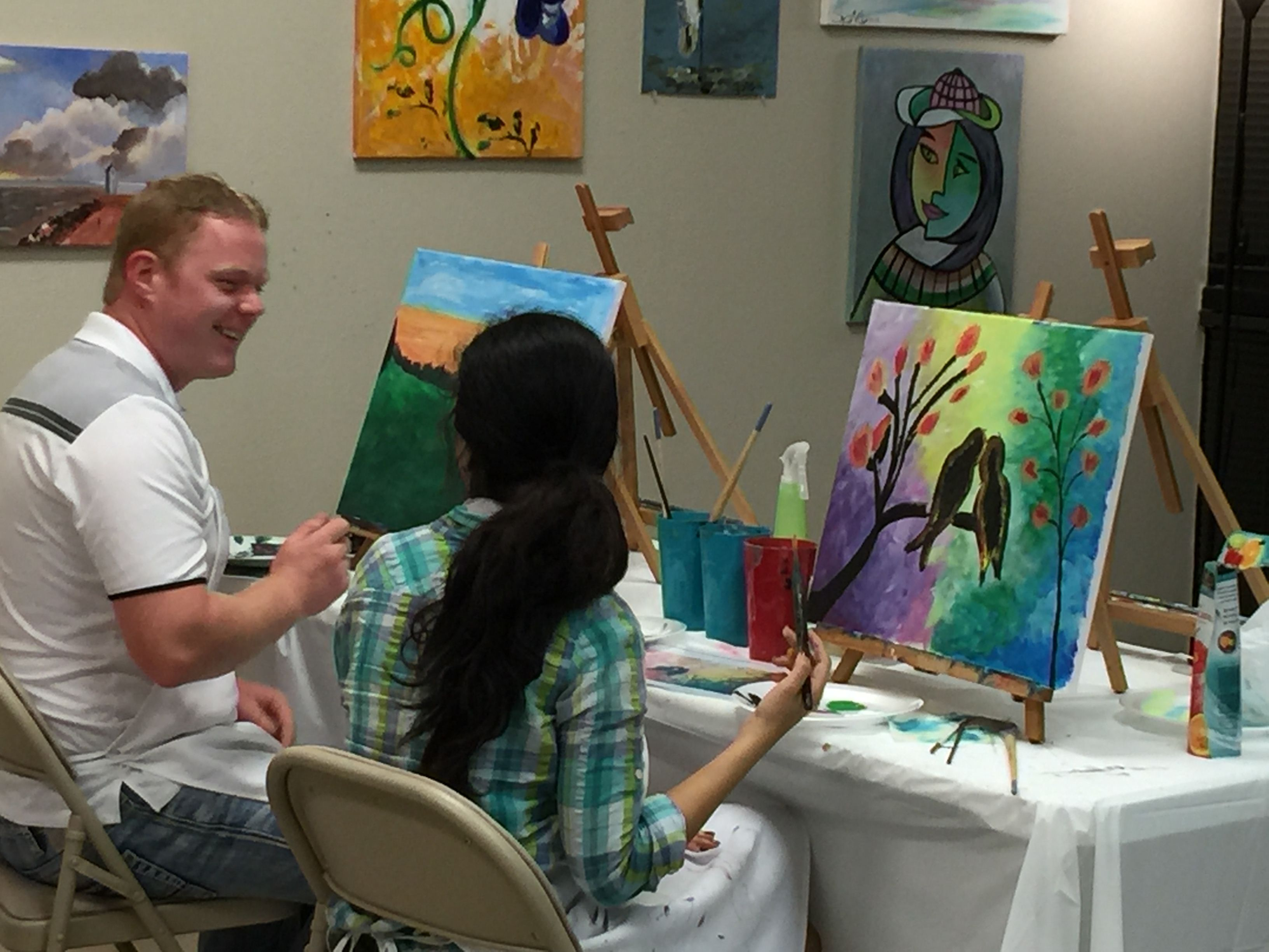 Dallas art classes for adults
