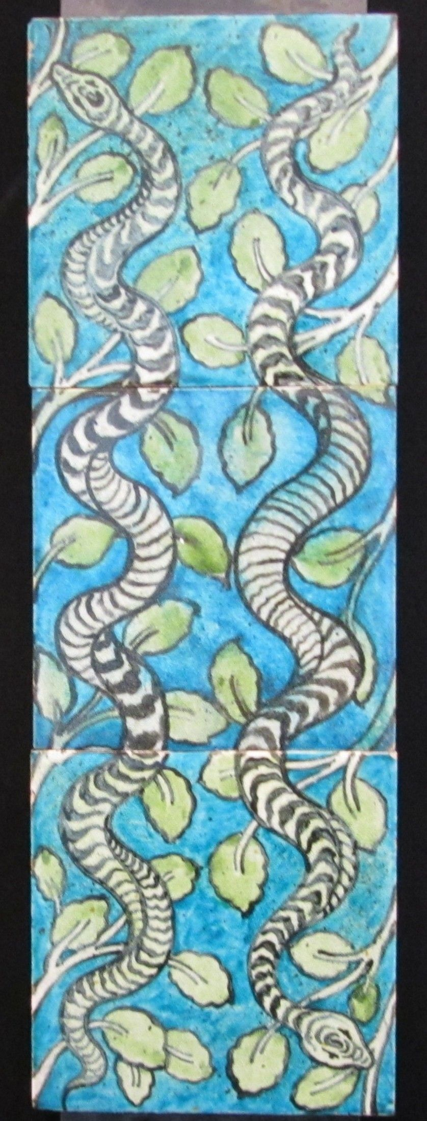William De Morgan Tile Panel