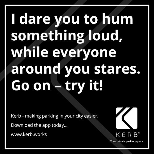 Dare Kerb Parking App Parking app, App, It works