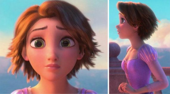 Unscripted November Thankful The 7th Rapunzel Short Hair Tangled Rapunzel Hair Rapunzel Hair