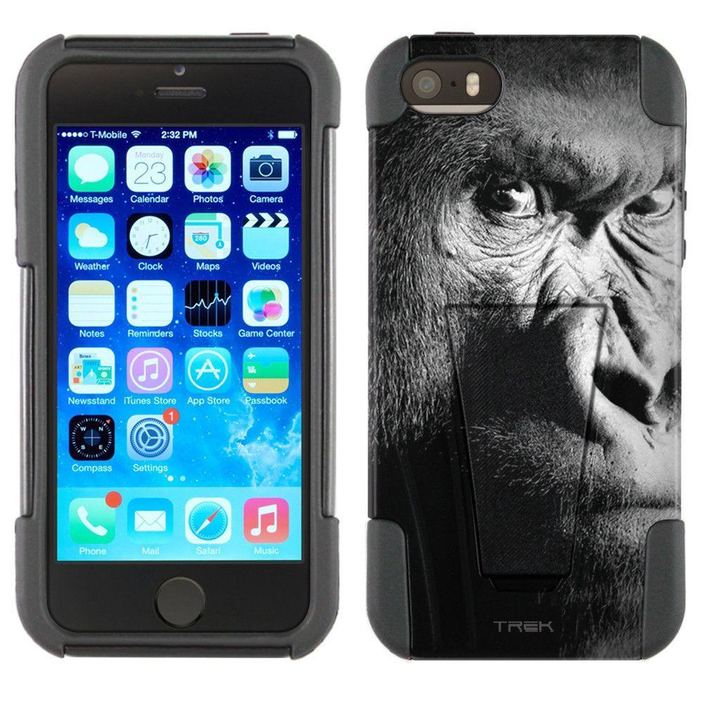 Apple iPhone 5 Hybrid Stand Case - Serious Gorilla