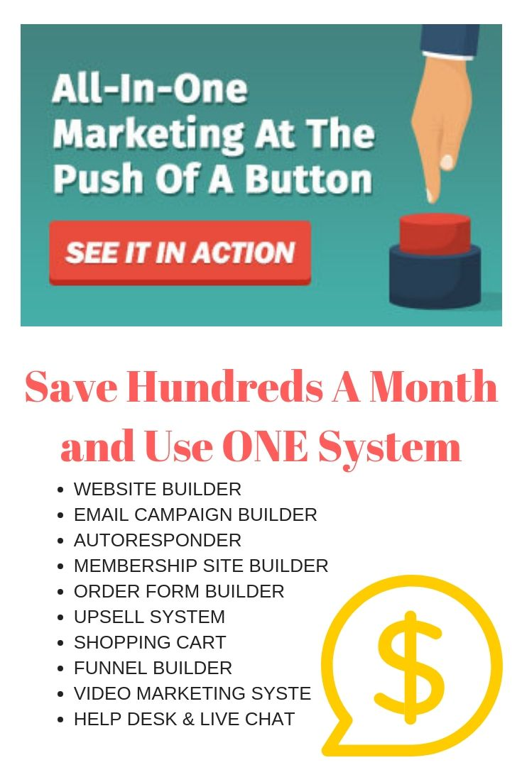 The ULTIMATE Digital Marketers Tool! 1 system that does it