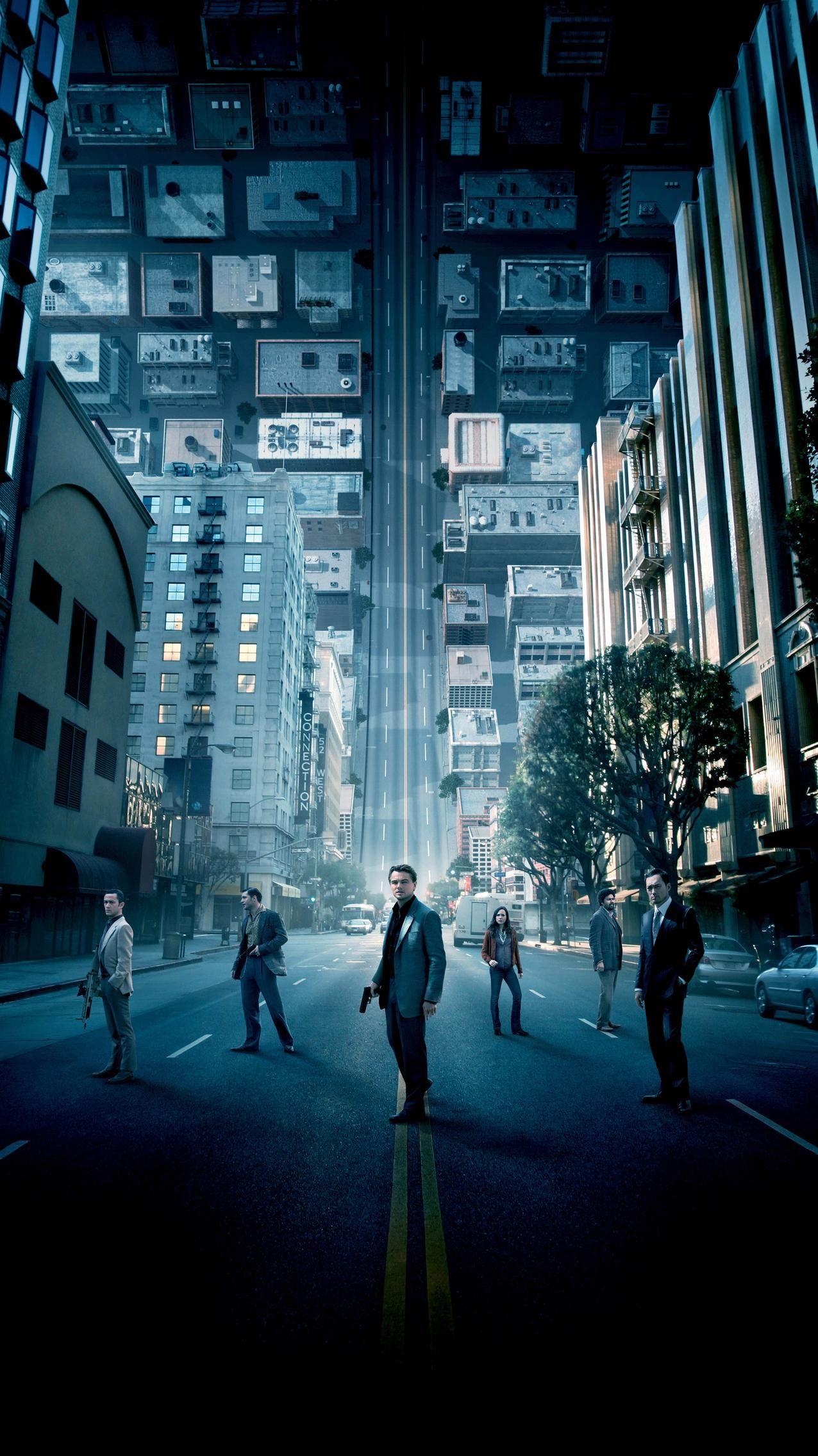 Inception (2010) Phone Wallpaper | Moviemania
