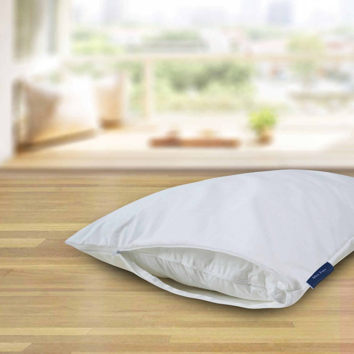 Cooling Hypoallergenic Waterproof Pillow Protectors Zippered