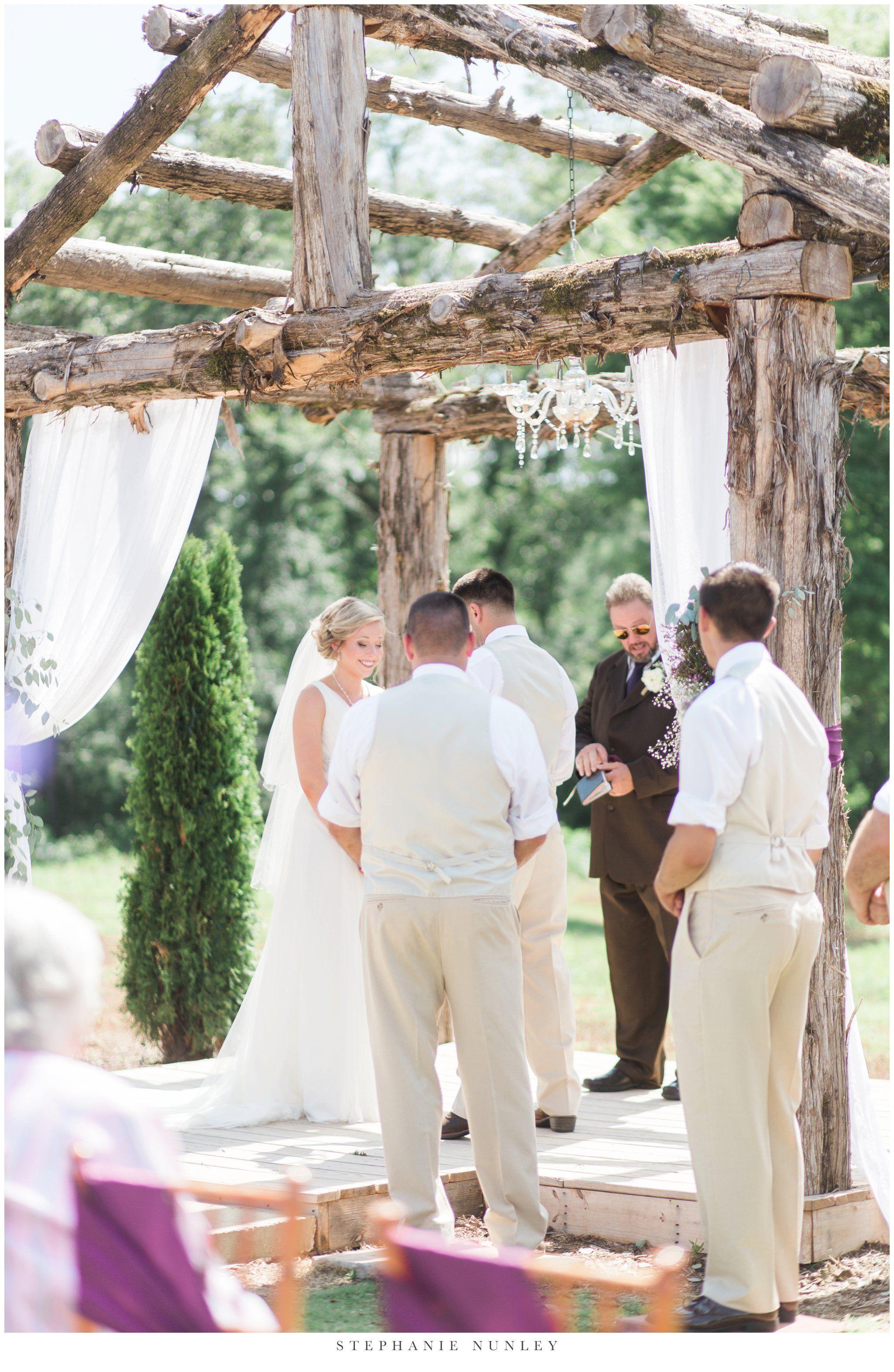 A royal ridge wedding in hot springs arkansas austin