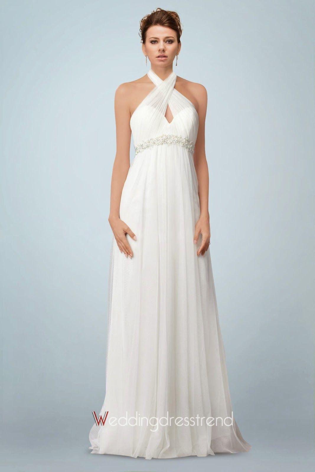 Lindos Vestidos de novia para embarazadas | Tendencias | Vestidos ...