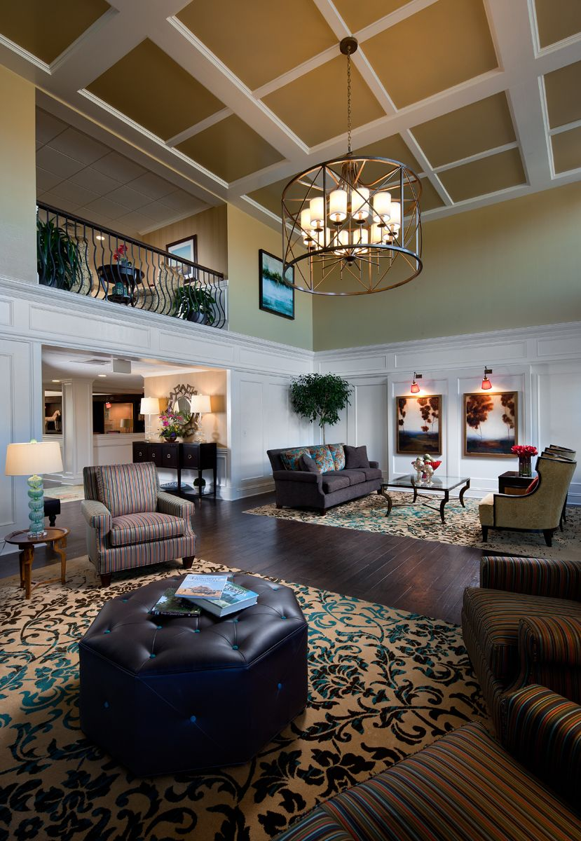 The North Garden Apartments   Lobby