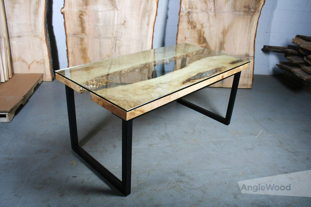 Maple Gl Top River Table Coffee