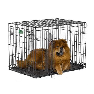 Midwest Homes For Pets Icrate Double Door Pet Crate Size Dog