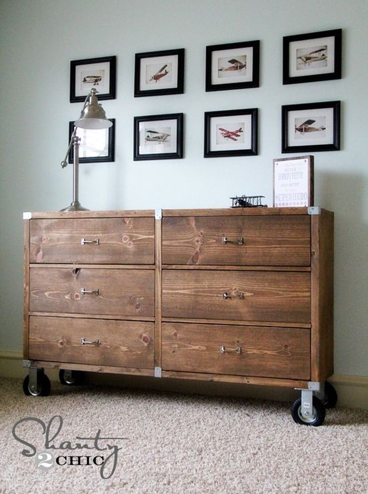 13 Free DIY Woodworking Plans for Building Your Own Dresser | Diy ...