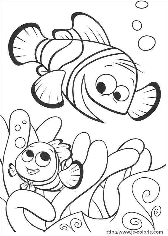 Coloriage Nemo.Coloriages Nemo Disney Coloring Pages Nemo Coloring Pages