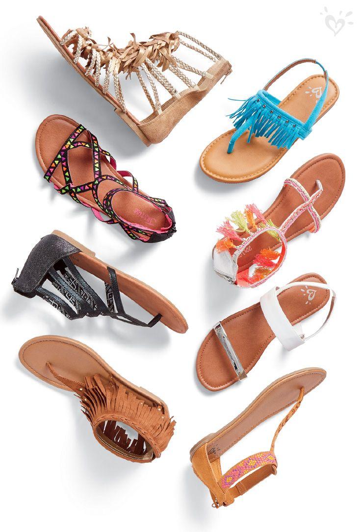 JTENGYAO Toddler Girls Beaded Princess Dress Sandals Summer Beach Shoes