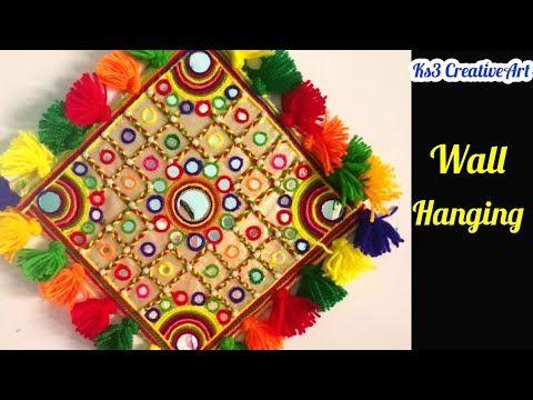Diwali Home Decor Craft |Diwali Craft Ideas | Woolen Wall Hanging Idea | Home  Decoration Idea   YouTube
