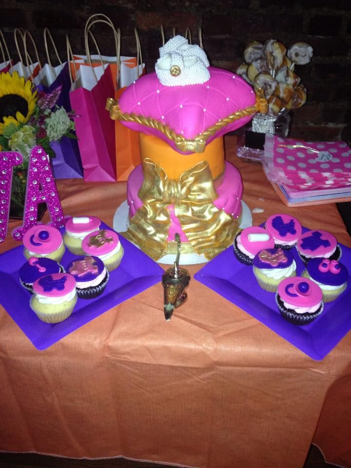 High Quality Moroccan Baby Shower Cake
