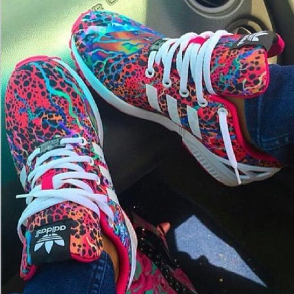 Adidas zx flux Wore a couple times. Look new Adidas Shoes