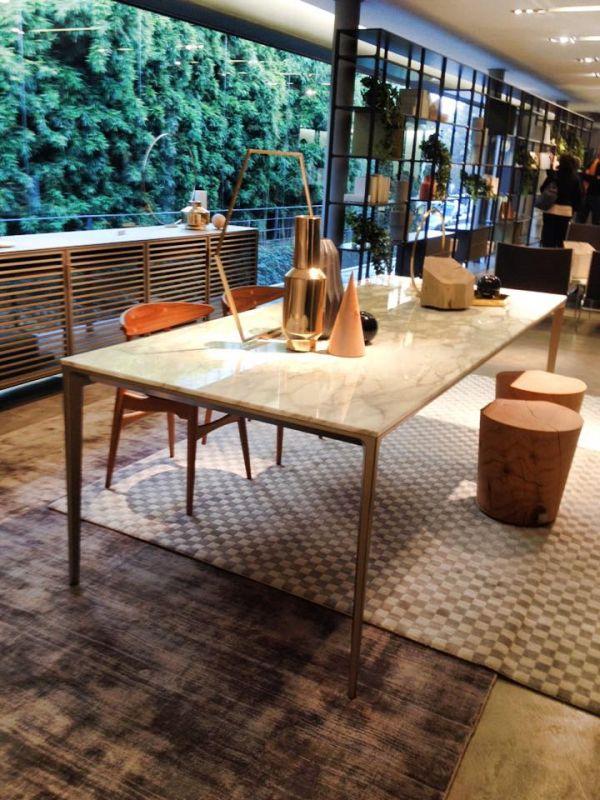 Bekend Rimadesio long island tafel met marmer blad - Tafel | Pinterest  IX33